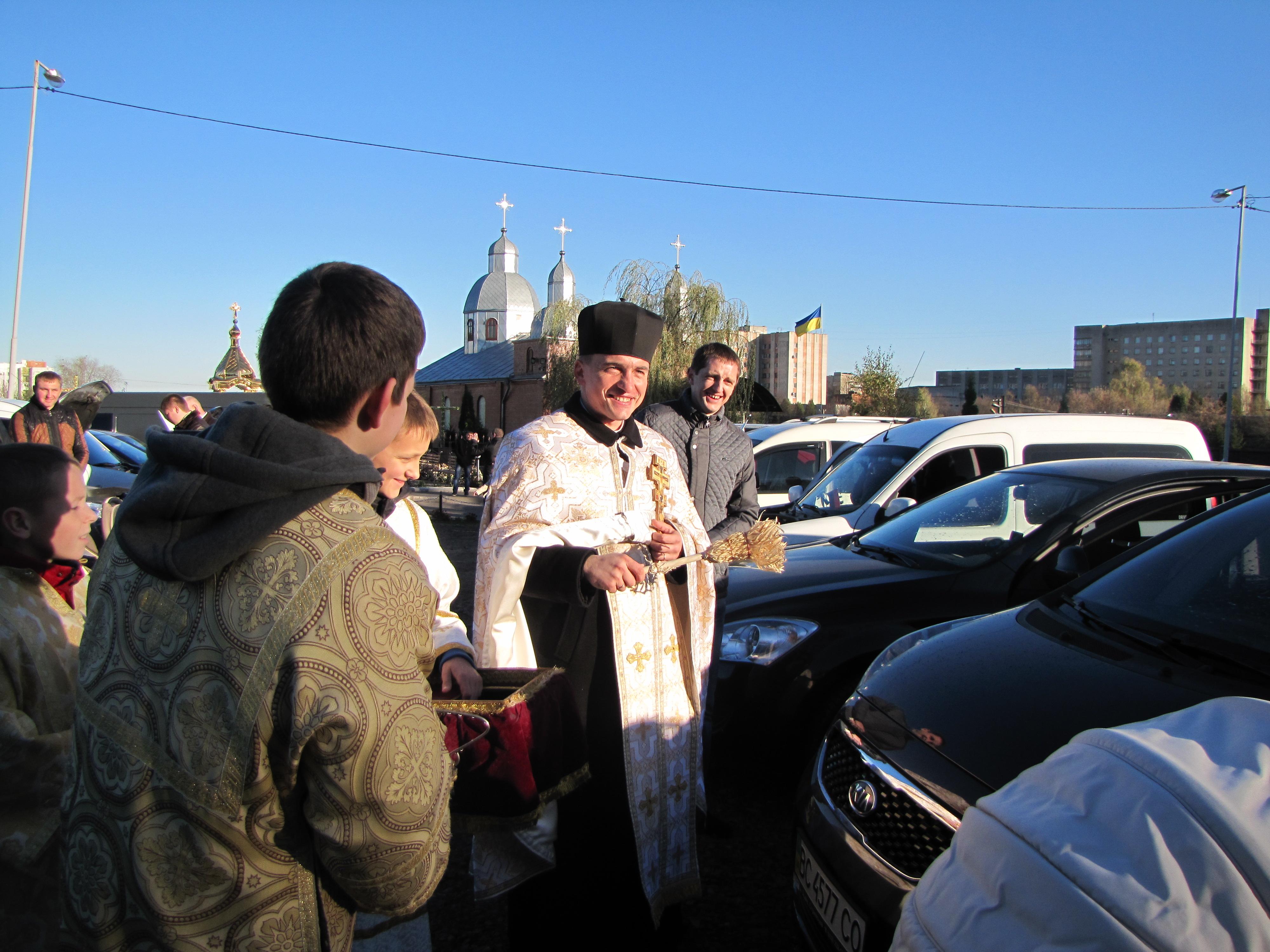 День автомобіліста на нашій парафії