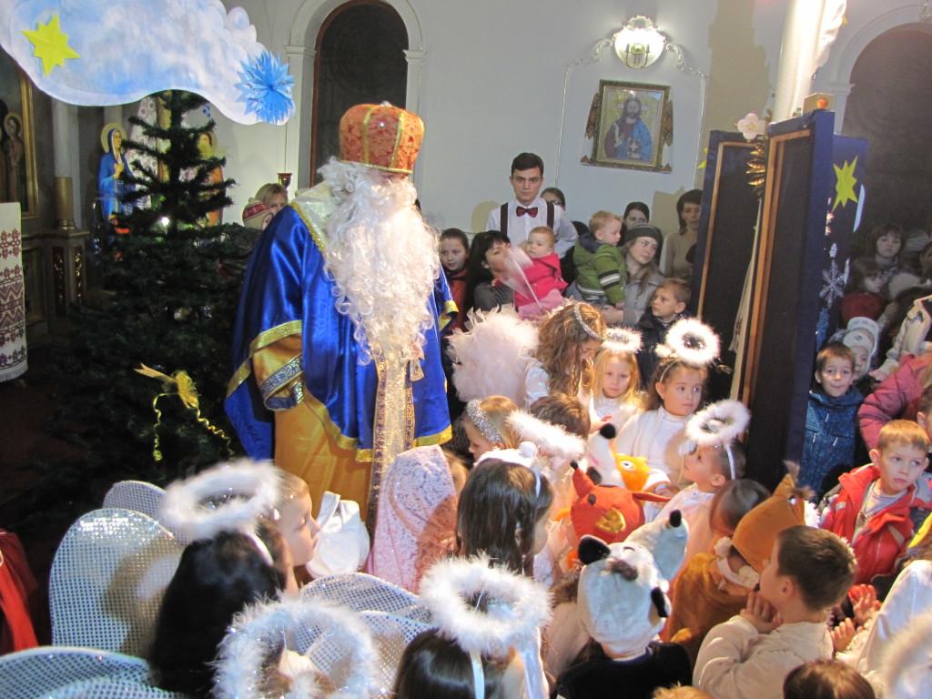 Святий Миколай у нашому храмі