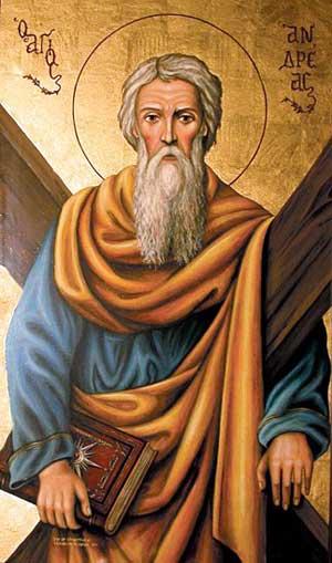 Життя святого апостола Андрія Первозванного