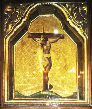 Копія чудотворної ікони з Глинян у нашому храмі.