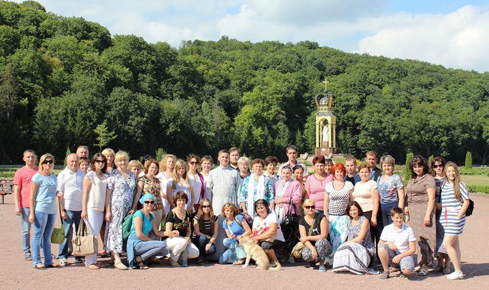 23 липня відбулася парафіяльна проща до Зарваниці.