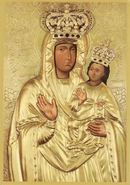 Зарваницька ікона Божої Матері у нашому храмі