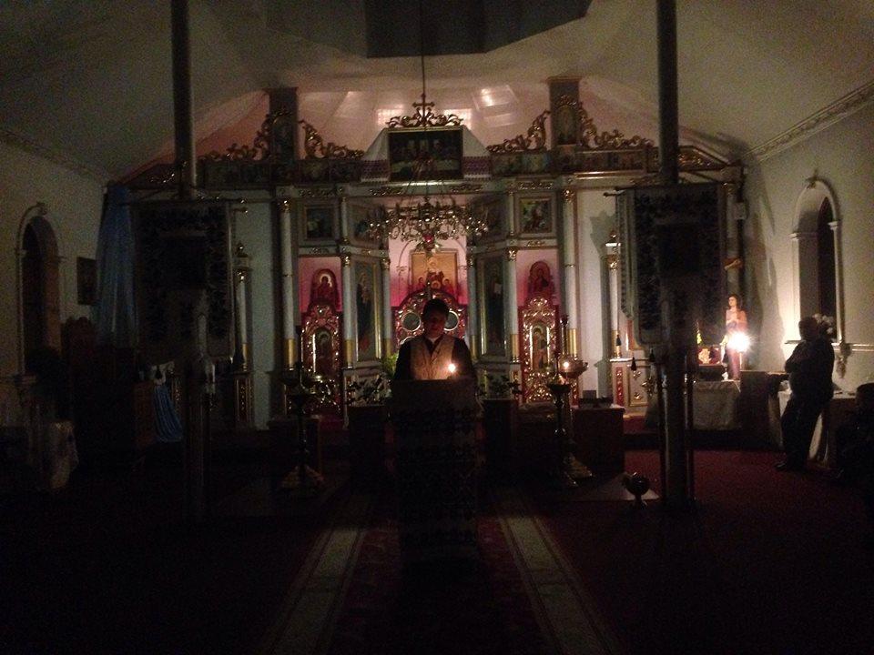 24 грудня відбувся вечір подяки Богу за прожитий рік, молоді нашої парафії