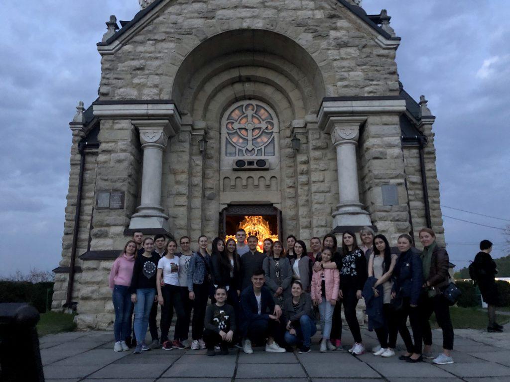 Щорічна проща Плащаницями Львова