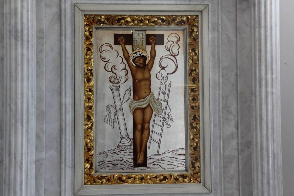 Чудотворна ікона Розп'яття Спасителя із Зарваниці