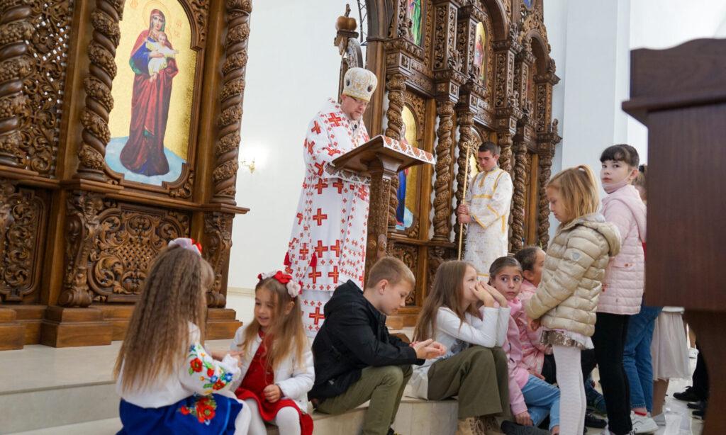 Проповідь Преосвященнішого Владики Володимира у день храмового свята
